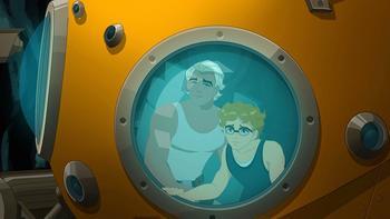 Episodio 13 (TTemporada 2) de H2O: Aventuras de sirenas