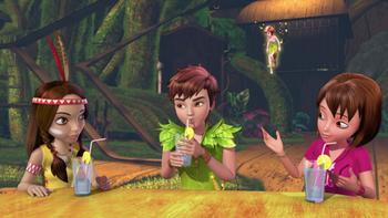 Episodio 19 (TTemporada 1) de Las nuevas aventuras de Peter Pan
