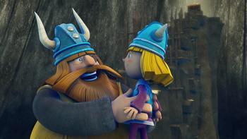 Episodio 12 (TTemporada 1) de Vicky el vikingo