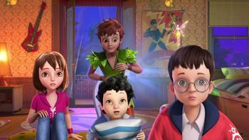 Episodio 21 (TTemporada 1) de Las nuevas aventuras de Peter Pan