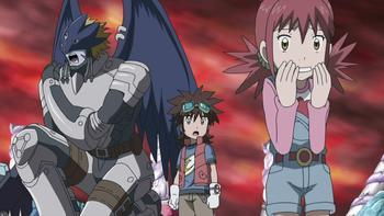 Episodio 17 (TDigimon Xros Wars: Temporada 1) de Digimon Fusion