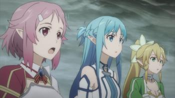 Episodio 16 (TTemporada 1) de Sword Art Online II