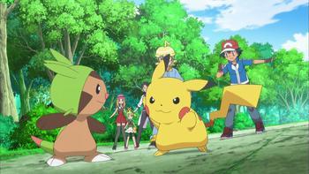 Episodio 10 (TXY) de Pokémon: XY