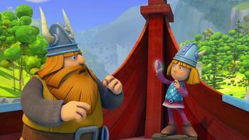 Episodio 34 (TTemporada 1) de Vicky el vikingo