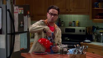 Episodio 7 (TTemporada 4) de The Big Bang Theory