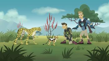 Episodio 25 (TTemporada 1) de Los hermanos Kratts