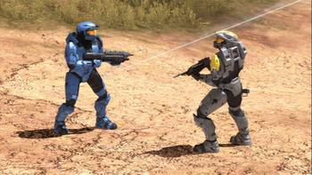 Episodio 6 (TRed vs. Blue: The Blood Gulch Chronicles) de Red vs. Blue