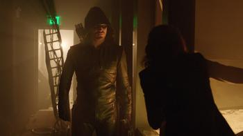 Episodio 10 (TTemporada 2) de Arrow