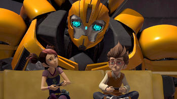 Episodio 4 (TTemporada 2) de Transformers Prime