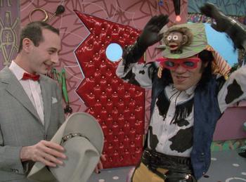 Episodio 5 (TTemporada 1) de Pee-wee's Playhouse