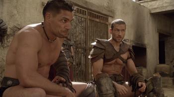 Episodio 13 (TBlood and Sand) de Spartacus