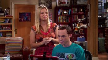 Episodio 10 (TTemporada 3) de The Big Bang Theory