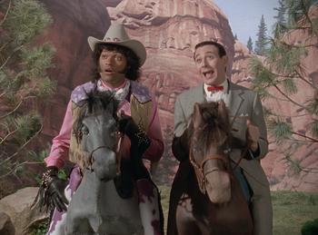Episodio 8 (TTemporada 5) de Pee-wee's Playhouse