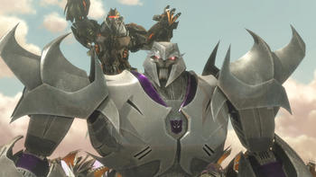 Episodio 10 (TTemporada 2) de Transformers Prime