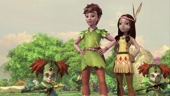 Episodio 15 (TTemporada 1) de Las nuevas aventuras de Peter Pan