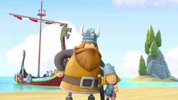 Episodio 36 (TTemporada 1) de Vicky el vikingo