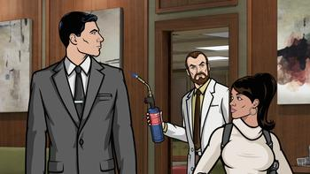 Episodio 12 (TTemporada 4) de Archer