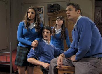 Episodio 4 (TTemporada 3) de El internado