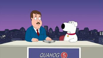 Episodio 7 (TTemporada 9) de Family Guy