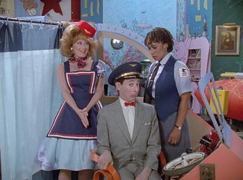 Episodio 6 (TTemporada 4) de Pee-wee's Playhouse