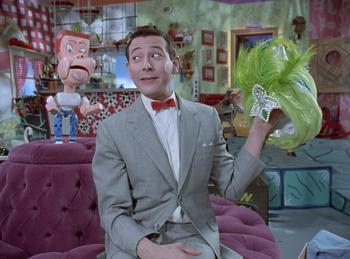 Episodio 8 (TTemporada 4) de Pee-wee's Playhouse