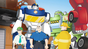 Episodio 13 (TTemporada 1) de Transformers: Rescue Bots