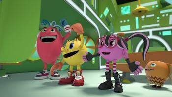 Episodio 16 (TTemporada 1) de Pac-Man y las Aventuras Fantasmales