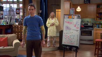 Episodio 14 (TTemporada 3) de The Big Bang Theory