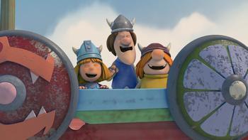 Episodio 2 (TTemporada 1) de Vicky el vikingo