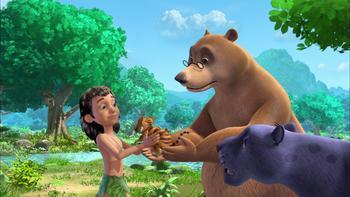 Episodio 2 (TTemporada 2) de El Libro de la Selva