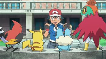 Episodio 42 (TXY) de Pokémon: XY