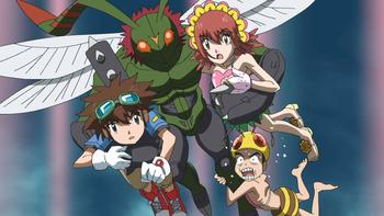 Episodio 19 (TDigimon Xros Wars: Temporada 1) de Digimon Fusion