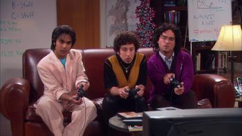 Episodio 22 (TTemporada 3) de The Big Bang Theory