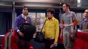 Episodio 17 (TTemporada 2) de The Big Bang Theory
