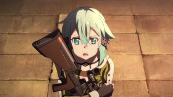 Episodio 9 (TTemporada 1) de Sword Art Online II